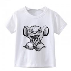 "Tshirt petite fille ""Simba""..."