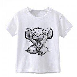 "Tshirt ""Simba"" manche courte"