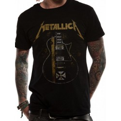 T-shirt Metallica  Black Iron