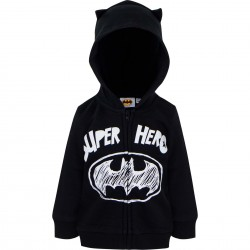 """Sweat à capuche zippé """"Batman"""""""