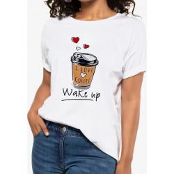 T-shirt femme ample et...